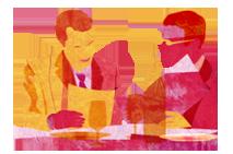 Découvrez les offres professionnelles repas d'affaires sur mesure